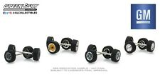GreenLight 1/64 General Motors Wheel &Tire Pack-16 Wheels 16 Tires 8 Axles 13167