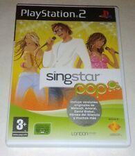 Singstar Pop PS2 Pal España Como Nuevo