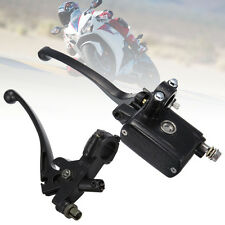 "Motorcycle 7/8"" Aluminum Hydraulic Brake Master Cylinder Clutch Lever Dirt Bike"