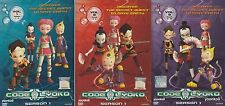 Code Lyoko DVD Season 1 Vol. 1~3 Eps 1-12 Anime English Version _ PAL Format