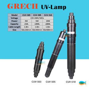 SUNSUN(GRECH) 3W/5W/10W pond aquarium UV light sterilizer