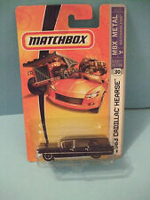 1963 63 CADILLAC HEARSE COLLECTOR #30 1/64 DIECAST CAR by MATCHBOX 2006