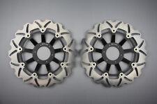 Paire disques frein avant wave 296mm pour Honda CB-F 600 Hornet 1998-1999