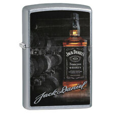 Personalised Genuine Zippo Lighter Jack Daniels Bottle Design Free Engraving