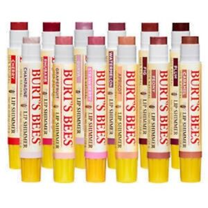 Burt's Bees Lip Shimmer, With Shea Butter & Beeswax, All Shades £4.75 each