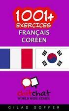 1001+ Exercices Français - Coréen by Gilad Soffer (2016, Paperback)