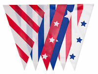 USA Bunting American Flags States Stars Stripes Beach Birthday Party Nautical