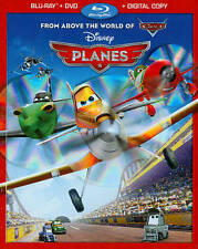 Disney Planes (Blu-ray/DVD, 2013, 2-Disc Set)