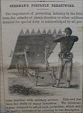 Civil War Infantry Shield 1863 Clothes Squeezer