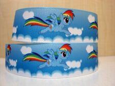 """Rainbow Dash MY LITTLE PONY Nastro Largo 1"""" Nuovo Venditore Regno Unito"""