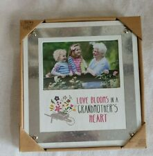 NEW Bless My Bloomers Picture Frame Grandmother's Heart  AmyLee Weeks
