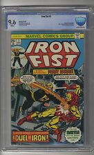 Iron Fist (1975) # 1 CBCS 9.6 White Pages Blue - Iron Man Appearance