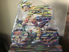 David Gerstein Bicycle Racer Metal Modern Art Sculpture Multi Color Israel NEW