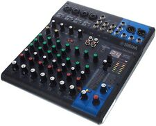 Yamaha MG10XU 10-Input Stereo Effect and USB Mixer + 2x 25ft XLR CABLES