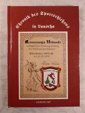 Chronik des Sportschießens in Lauscha, 1997, 89 num. Seiten, guter Zustand
