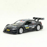 1:42 BMW M3 DTM(E92) Racing Car Model Diecast Toy Vehicle Kids Black Pull Back