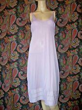Vintage Lorraine Purple Silky Nylon Empire Slip Nighty Lingerie 38