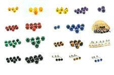 Grand lot Piercings pierres et minéraux insert 1,6mm