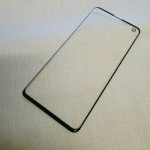 Front Outer Screen Glass Replacement Part For Galaxy S10 / S10 Plus