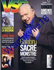 VSD n°2002 du 07/01/2016 Michel Galabru Corse 1943 Delpech Canada glacier Jumbo