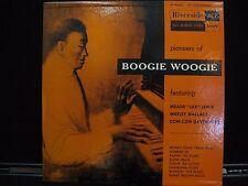 """Pioneers Of Boogie Woogie Riverside Records RLP 1009 Vinyl LP 10"""""""