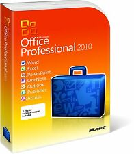 MICROSOFT OFFICE 2010 Professional Plus 1PC Windows Lifetime licence - Download
