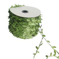 10 Meter Artificial Ivy Vine Leaf Silk Ribbon Fake Foliage Flowers Decor
