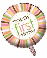 Birthday, Child Animals Round Party Foil Balloons