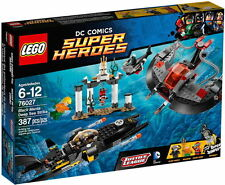 76027 BLACK MANTA DEEP SEA STRIKE lego legos set NEW sealed super heroes BATMAN