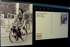 NEW POST CARD original SOLEX VELOSOLEX  vietnam pre 1975 saigon le loi avenue