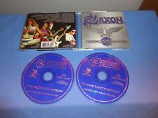 """Saxon """"Coming To The Rescue"""" 2 CD SNAPPER UK 2002"""