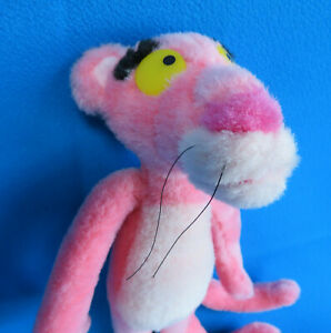 """official PINK PANTHER soft toy 12"""" plush UNITED ARTIST CORPORATION VINTAGE 2000"""
