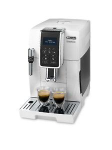 De'Longhi Bean to Cup Coffee Machine Dinamica ECAM350.35.W Refurbished