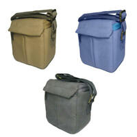 DSLR Canvas Camera Bag Shoulder Messenger Bag Carry Case For Sony Canon MQJ