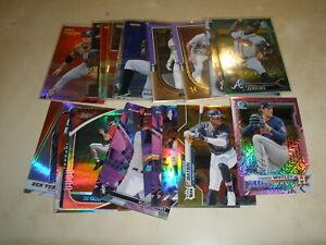 Baseball Inserts Parallels & Refractors LOT OF 26 Whitley Bieber Machado ++++