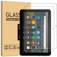 2PK Tempered Glass Screen Protector For Amazon Kindle Fire HD 8/8 PLUS 10th Gen
