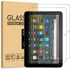 Universal For 2PK Amazon Kindle Fire HD 8 8 PLUS Tempered Glass Screen Protector