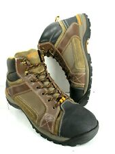 New listing Wolverine Men's Leather/Canvas Steel Toe Work Boots Size 14M