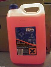 Kraft Concentré Antigel Liquide de Refroidissement 5L G12+ Rose VW Mercedes Ford