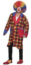 Adult Circus Clown Jacket Fancy Dress Costume
