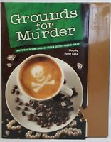 Bepuzzled Classic Mystery Jigsaw Puzzle Grounds for Murder 1000pc 23x29inch