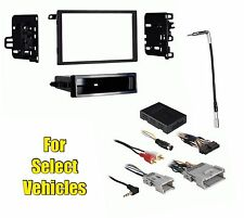 Car Stereo Radio Install Kit Combo Onstar w/+w/o Bose- retains Steering Controls