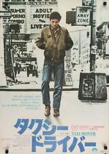 Taxi Driver Japanese B2 movie poster Martin Scorcese Robert De Niro 1976