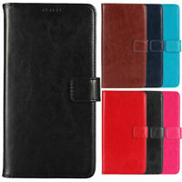 For Blu Phone - Premium PU Flip Leather Case Cover Stand Book Wallet Etui Shell