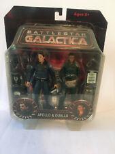 New listing Diamond Battlestar Galactica Apollo & Dualla 2 Figure Set Sealed