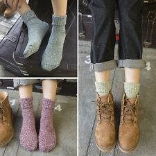 5pair Ladies Wool Cashmere Socks Winter Soft Warm Thick Casual Sports Sock YA9