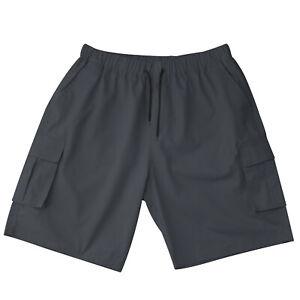 Men's Cargo Combat Shorts Casual Cotton Twill Multi Pockets Lightweight Outdoor