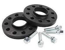 bmw e39 hubcentric 20mm schwarz spurverbreiterung set & bolts m12x1.5