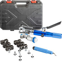 WK-400 Hydraulic Expander and Flaring Tool Set Kit 5-22 mm Brake Pipe Fuel Line