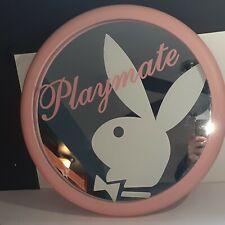 Playboy Playmate Pink Wooden Bar Mirror Bunny Head 18�